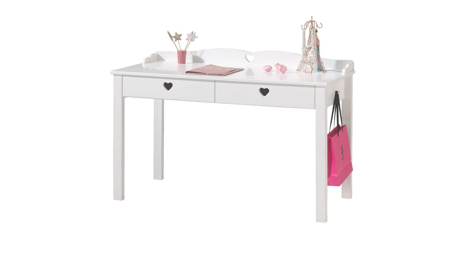 Weißer Schreibtisch Asami für Mädchenzimmer