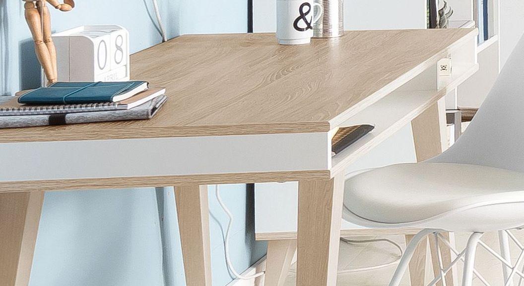 Schreibtisch Atina mit großzügigem Ablagefach