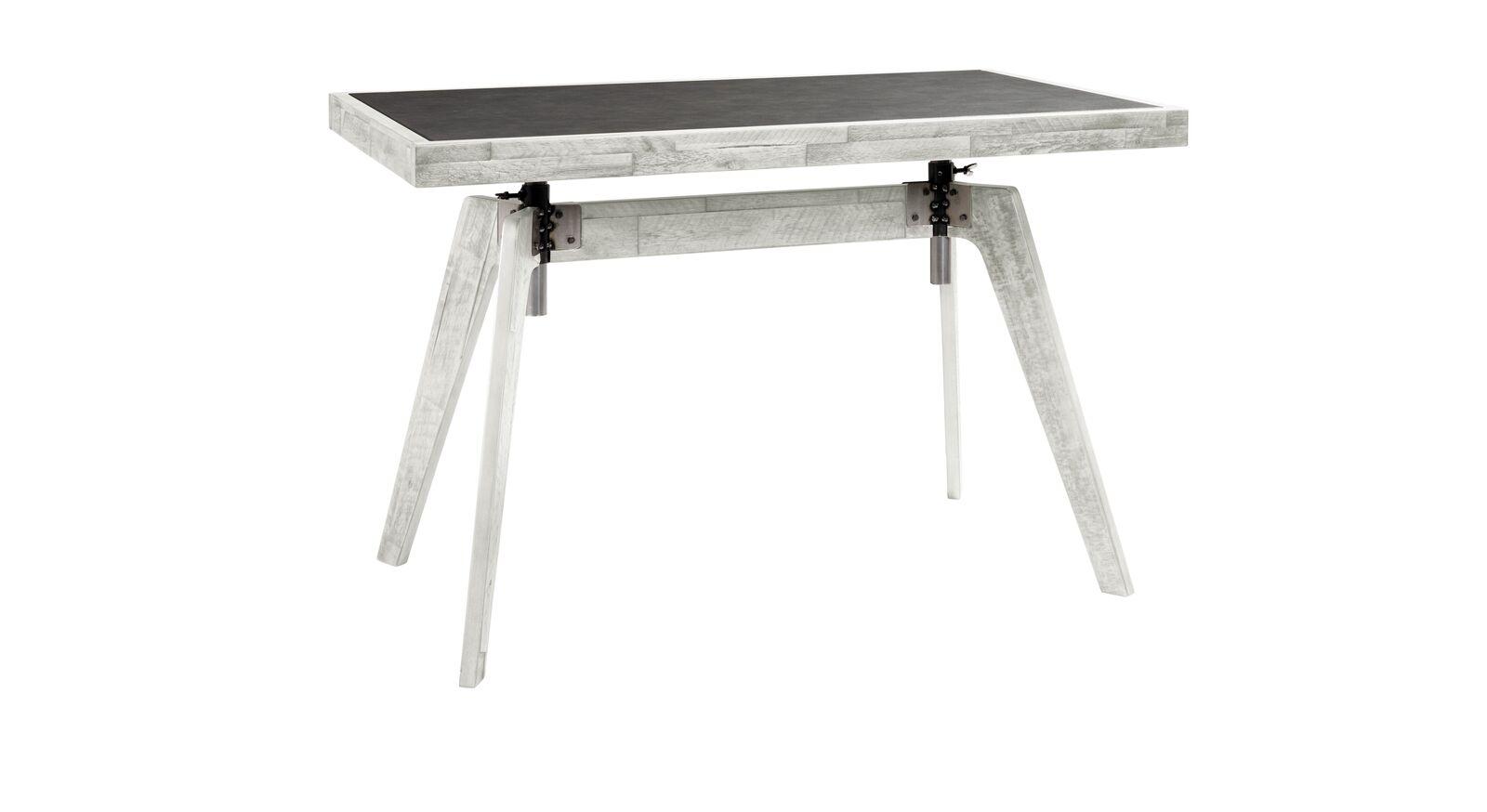 Schreibtisch Banvano aus weißem Akazienholz