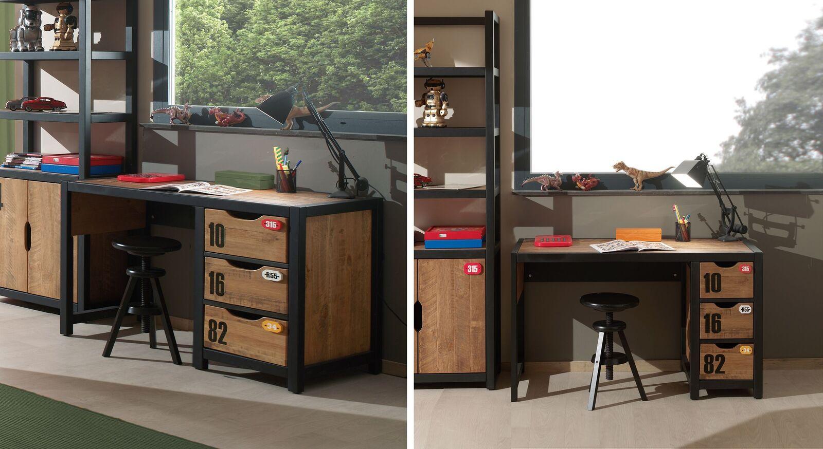 Schreibtisch Beli mit nützlichen Schubladen
