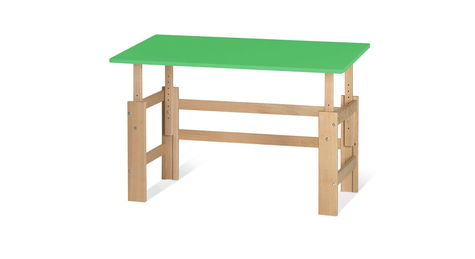 Schreibtisch Kids Town höhenverstellbar in Grün