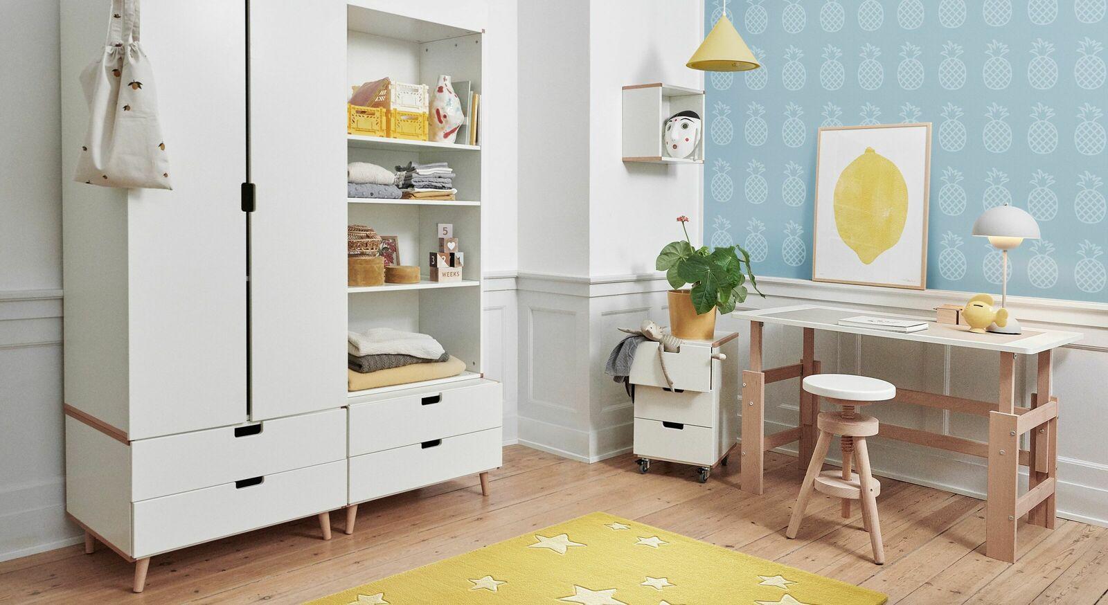 Passende Kindermöbel zum Schreibtisch Kids Town höhenverstellbar