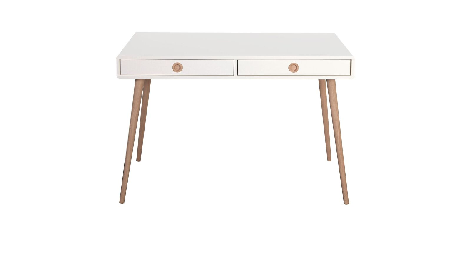 Kleiner Schreibtisch Zuria mit Schubladen