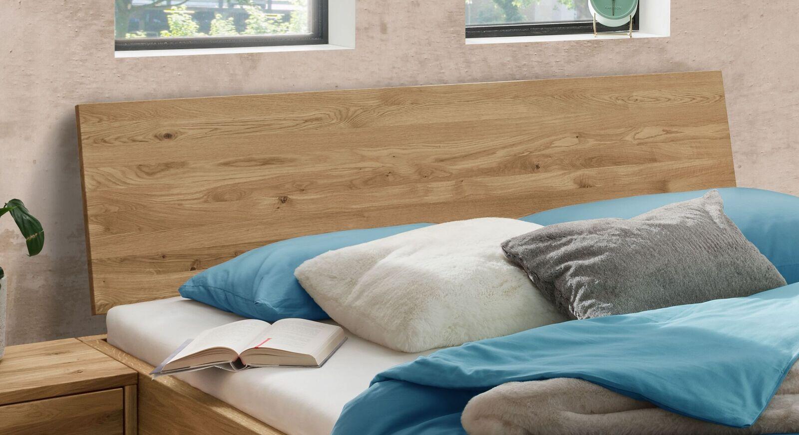 Schubkasten-Bett Adrien mit Holz-Kopfteil