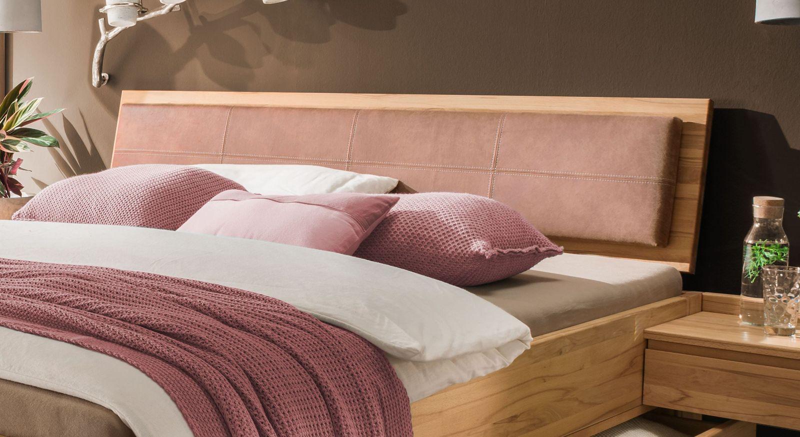 Schubkasten-Bett Aurachs Kopfteil inklusive Polster