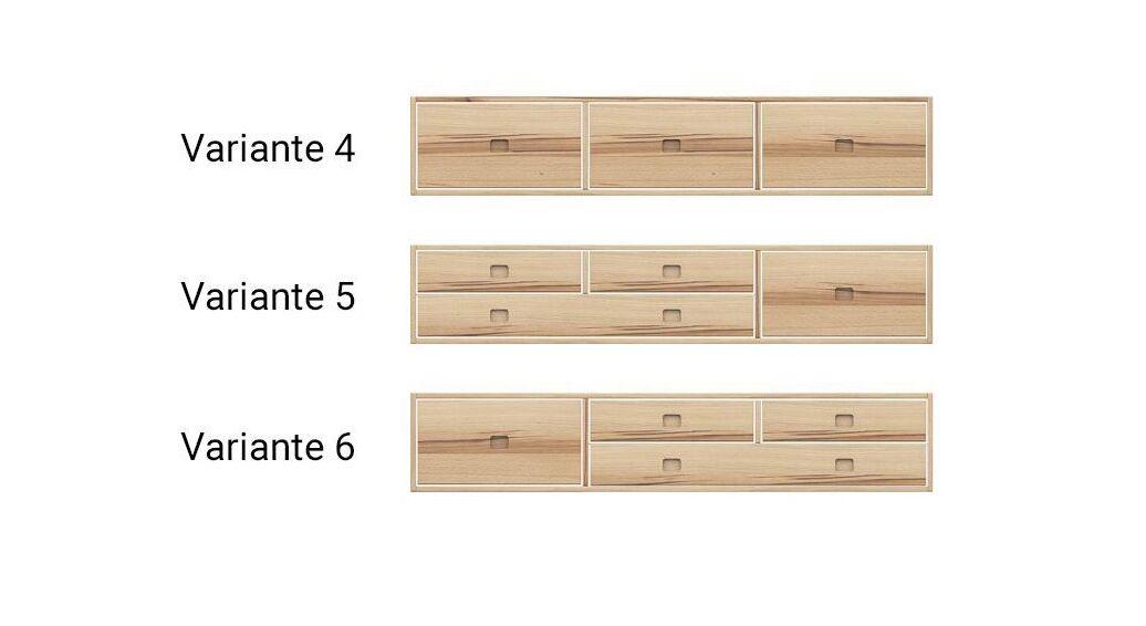 Komplexe wählbare Einteilung für Schubkasten-Betten