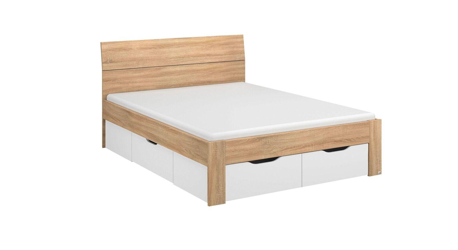 Modernes Schubkastenbett Oliana zum günstigen Preis