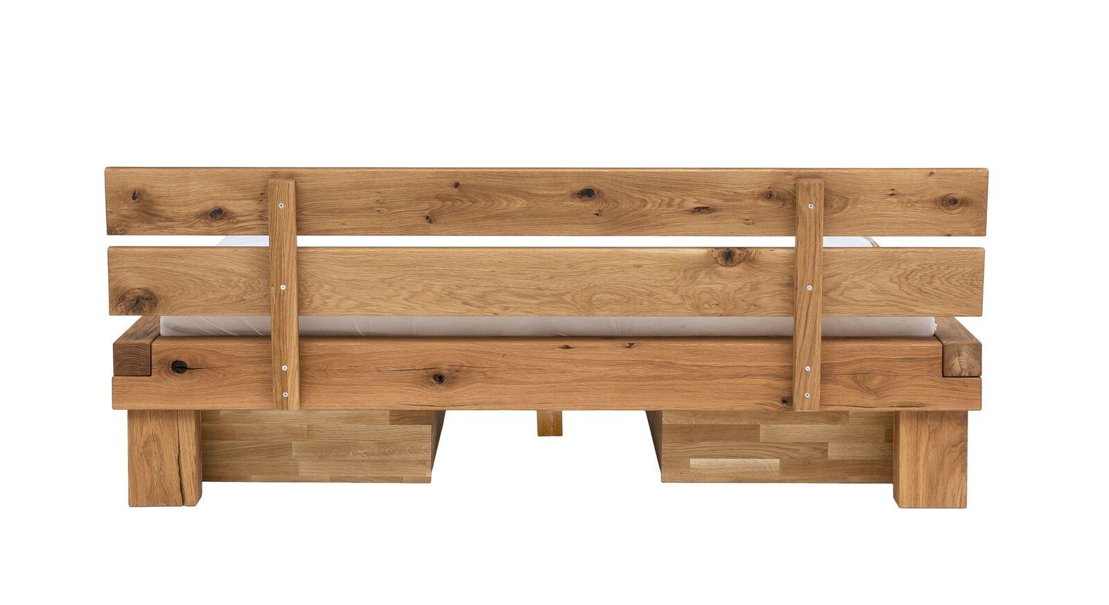 Schubkasten-Bett Tomba mit stabilem Kopfteil
