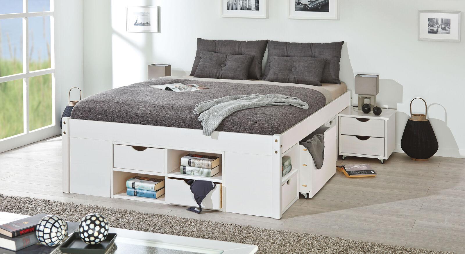 Praktisches Schubkastenbett Göteborg mit integriertem Stauraum