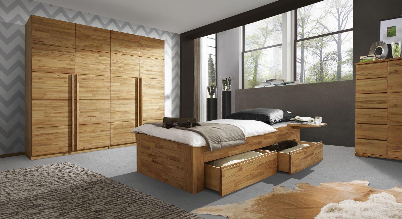 Schubkasten-Einzelliege Andalucia frei im Raum platzierbar