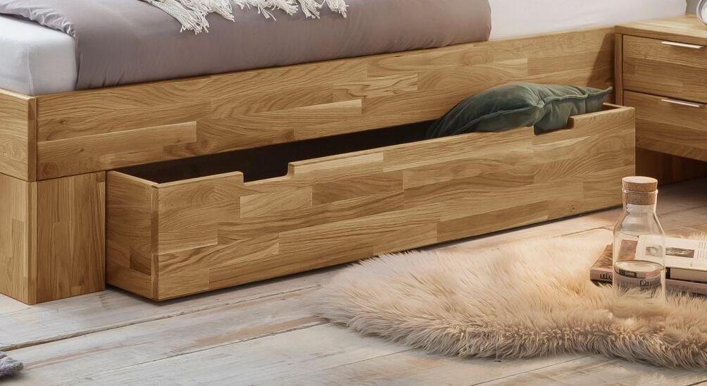 Schubkastenbett Kanata mit 2 geräumigen Schubladen