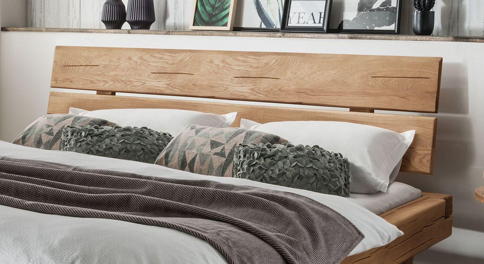 Schubkastenbett Romeno mit geteiltem Kopfteil