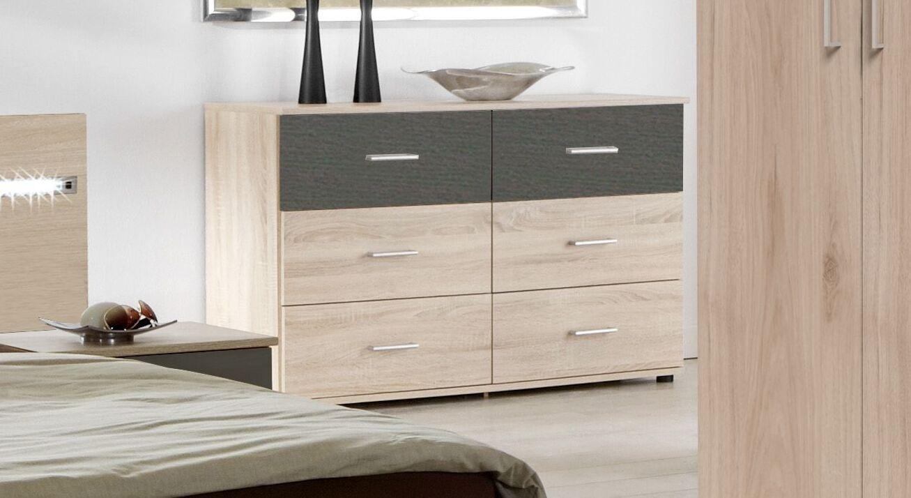 Schubladen-Kommode Pahoa im stilvollem Design