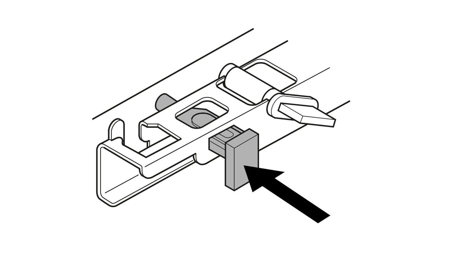 Schubladen-Sicherung zur einfachen Montage