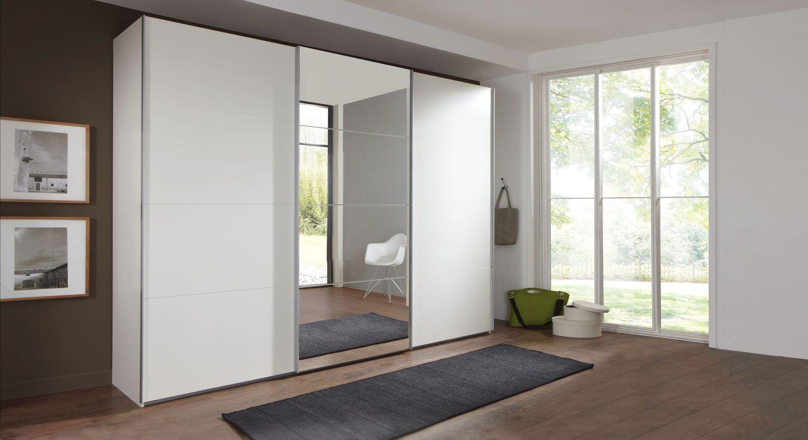 Moderner Schwebetüren-Kleiderschrank Arba mit 3 Türen