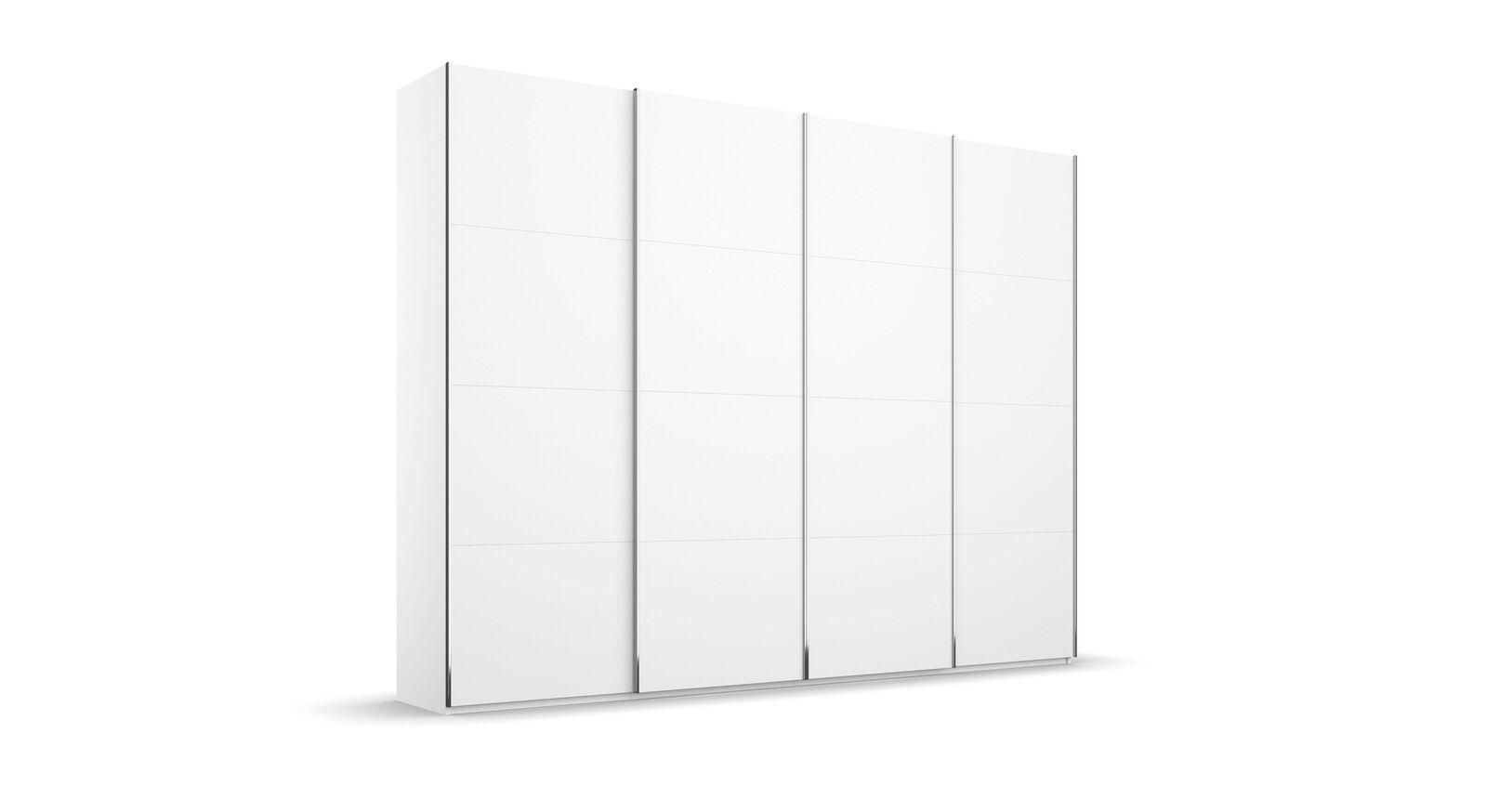 Schwebetüren-Kleiderschrank Eleisa mit 4 Türen