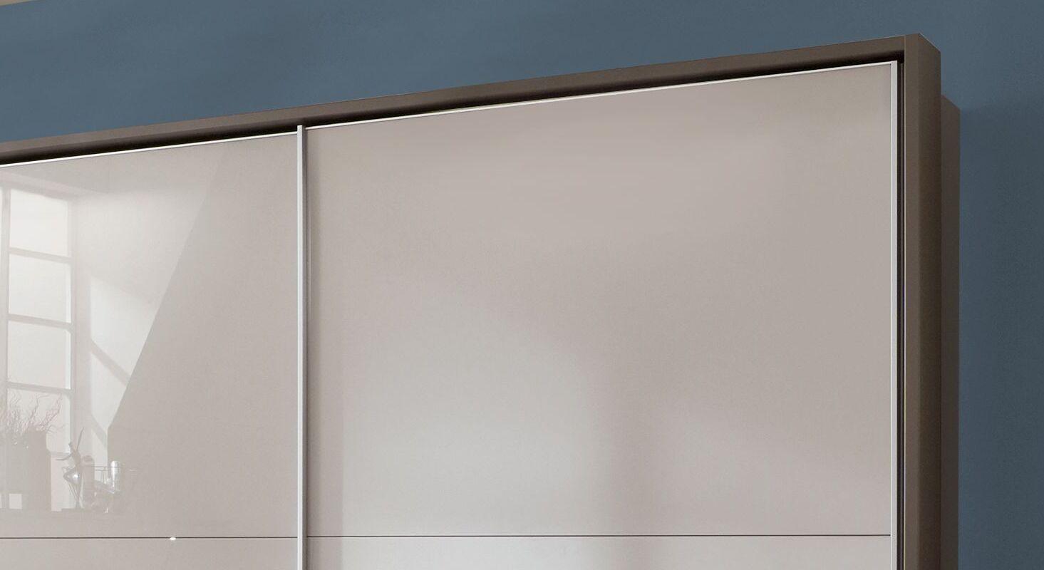Schwebetüren-Kleiderschrank Livingston mit attraktivem Rahmen