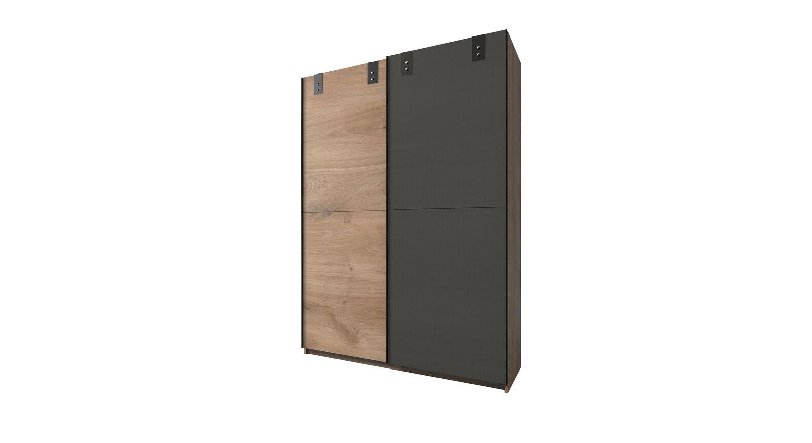 Schwebetüren-Kleiderschrank Nolans schmale Variante