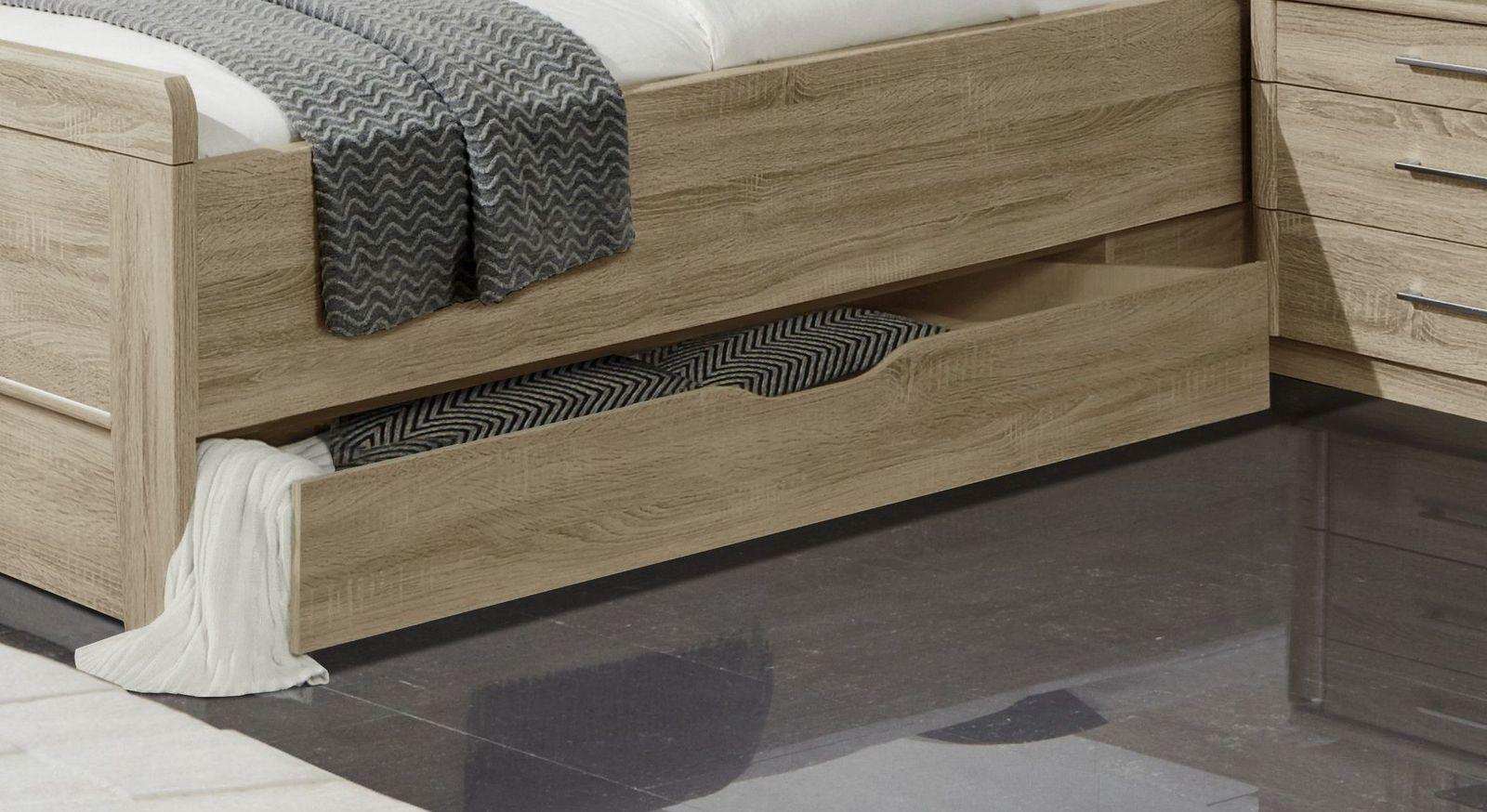 Senioren-Schubkastenbett Palmira mit praktischem Schubkasten