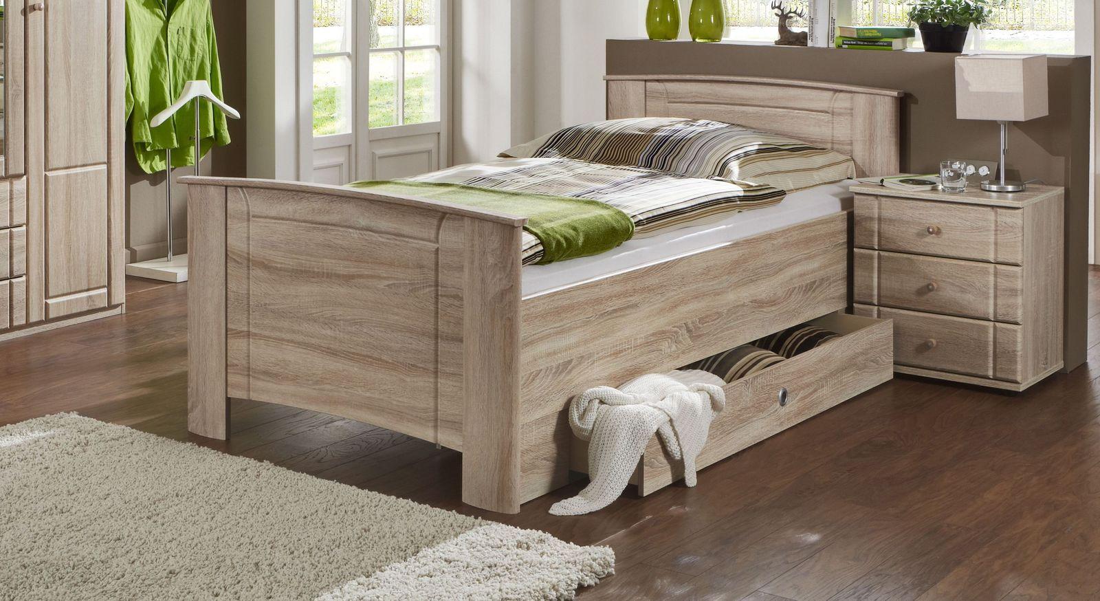Seniorenbett Carpina mit komfortabler Rahmenhöhe