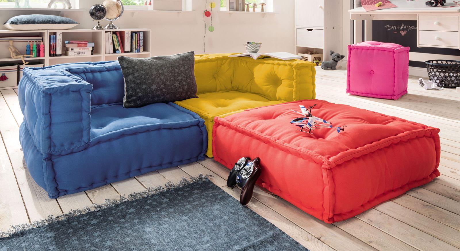 Buntes Sitzkissen Sofa Fur Kinder Und Jugendliche Kids Paradise