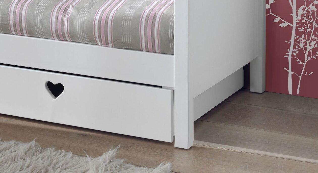 Sofa-Ausziehbett Asami mit praktischer Bettschublade