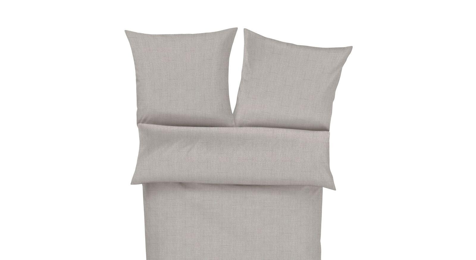 Sommer-Winter-Bettwäsche Uni hochwertiger Baumwolle