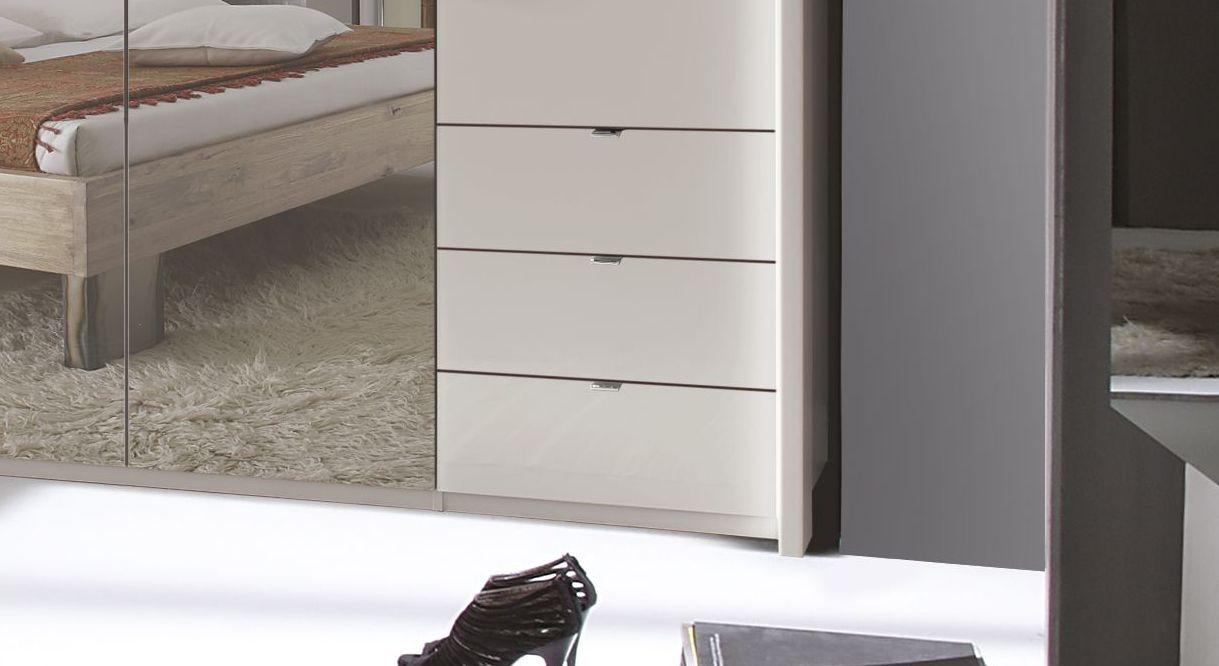 Spiegel-Funktions-Kleiderschrank Northville mit leichtgängigen Schubladen