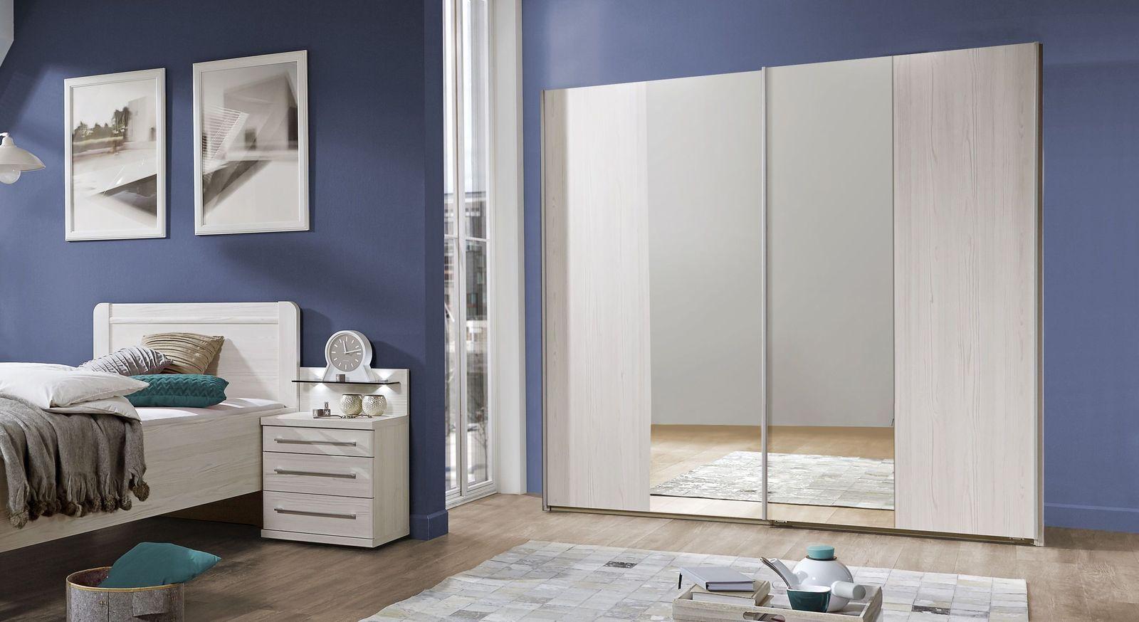 Spiegel-Kleiderschrank Apolda mit großer Spiegelfläche