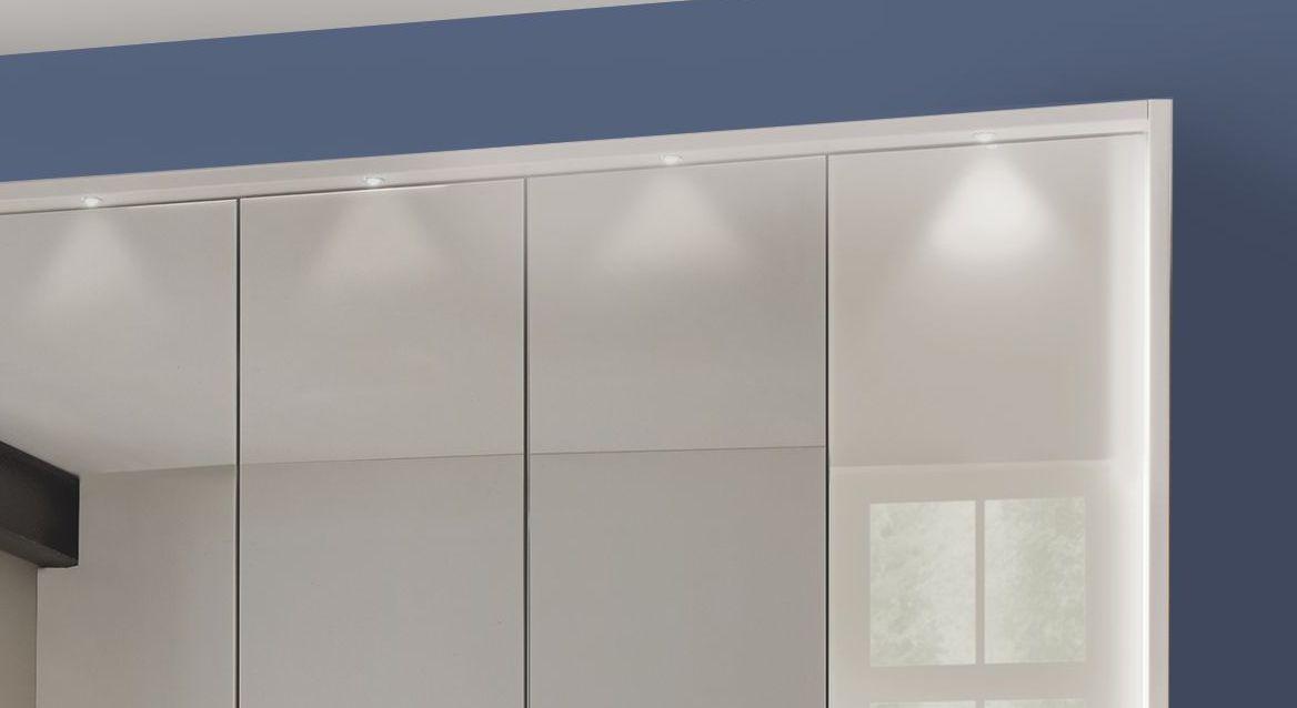 Spiegel-Kleiderschrank Elmira mit attraktiver Beleuchtung