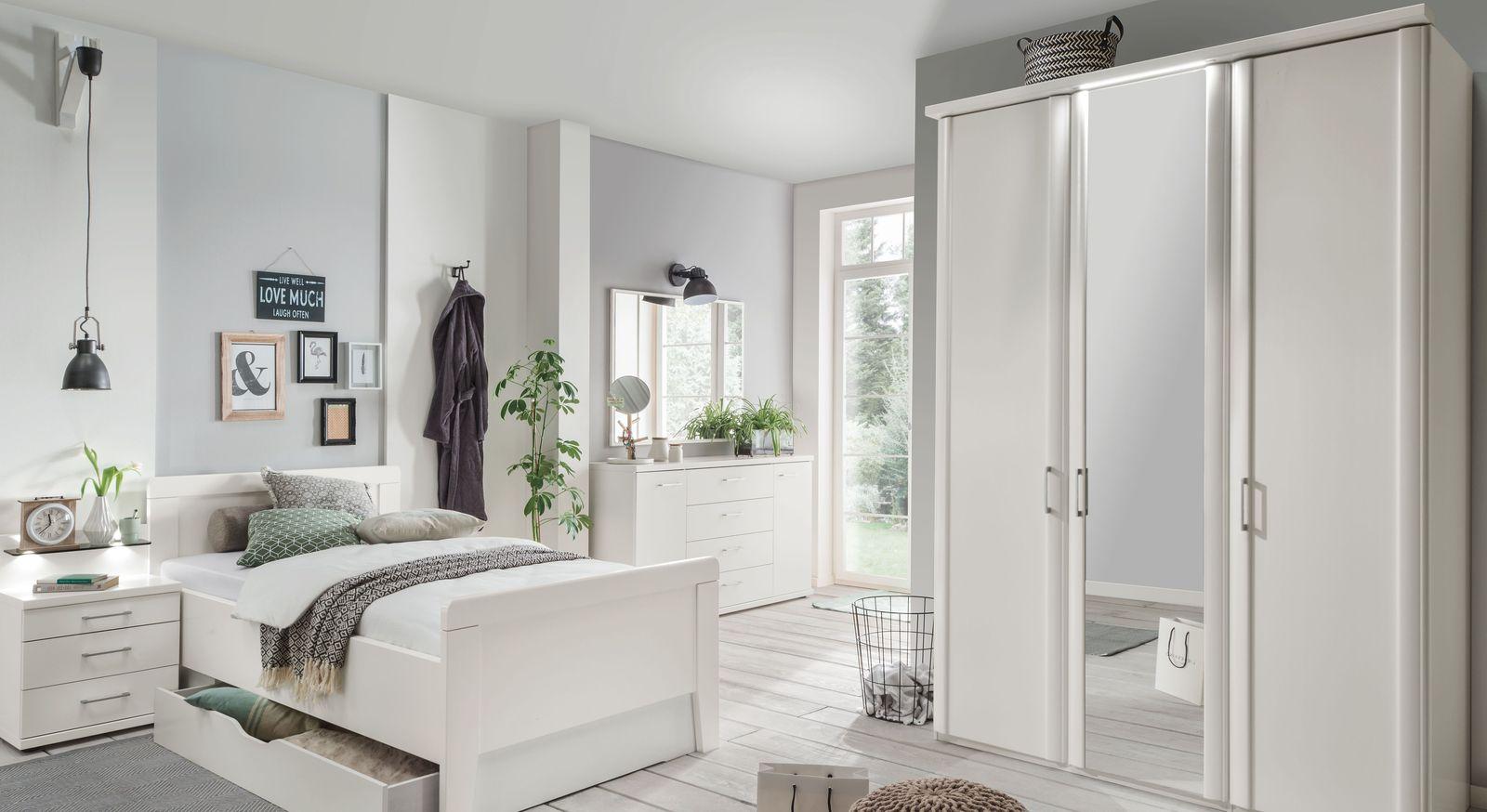 Spiegeltüren-Kleiderschrank Calimera mit viel Stauraum