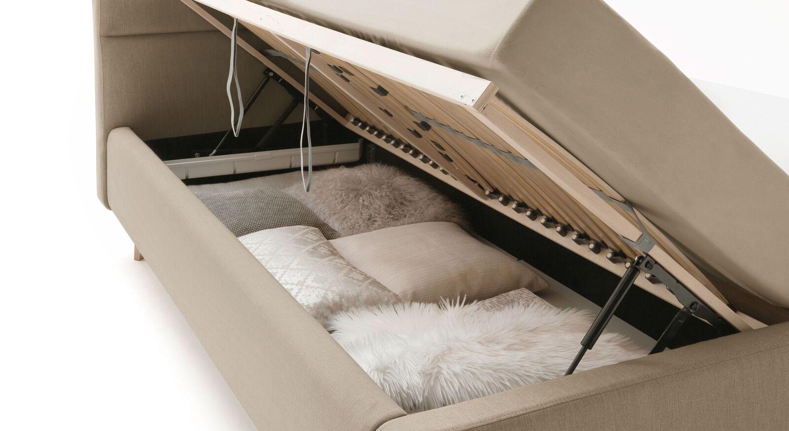 Stauraumbett Kromera mit praktischem Bettkasten