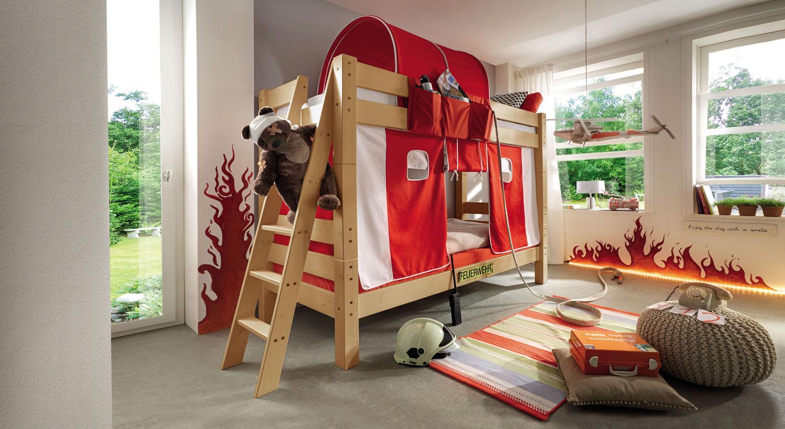 Stabiles Stockbett Kids Dreams  in gelaugt/geölt