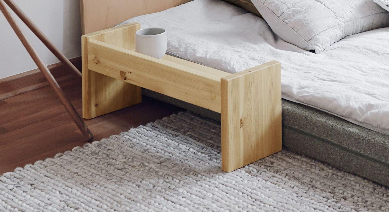 Funktionaler Nachttisch zum Tagesbett Capena