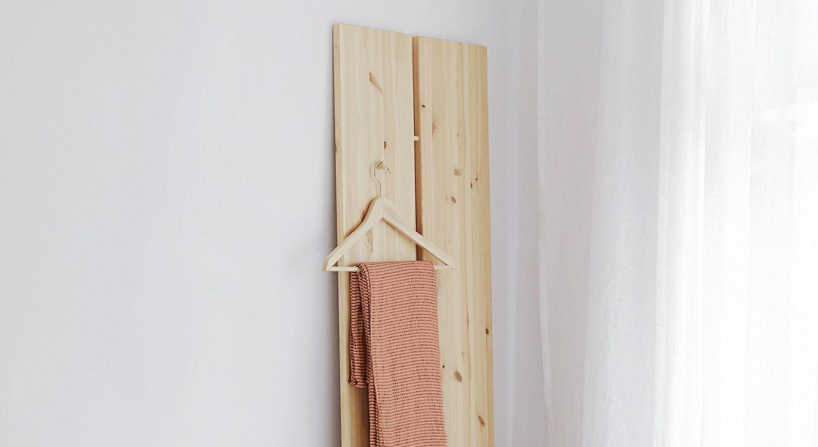 Tagesbett Capena als Garderobe verwendbar