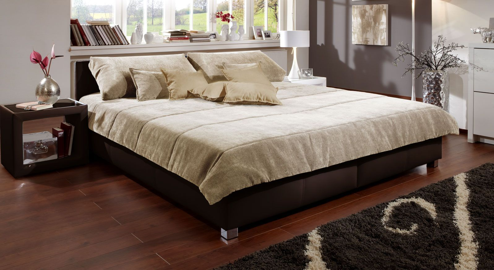 Tagesdecke Amadeo beige chenille
