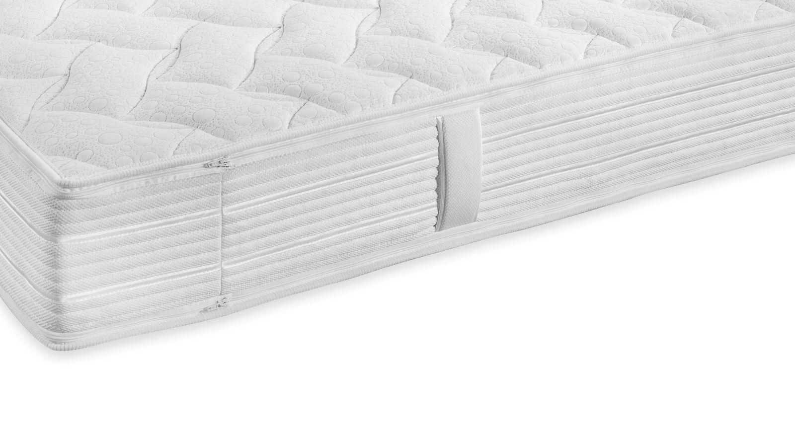 Taschenfederkern-Matratze Pan Luxus mit vertikalen Haltegriffen