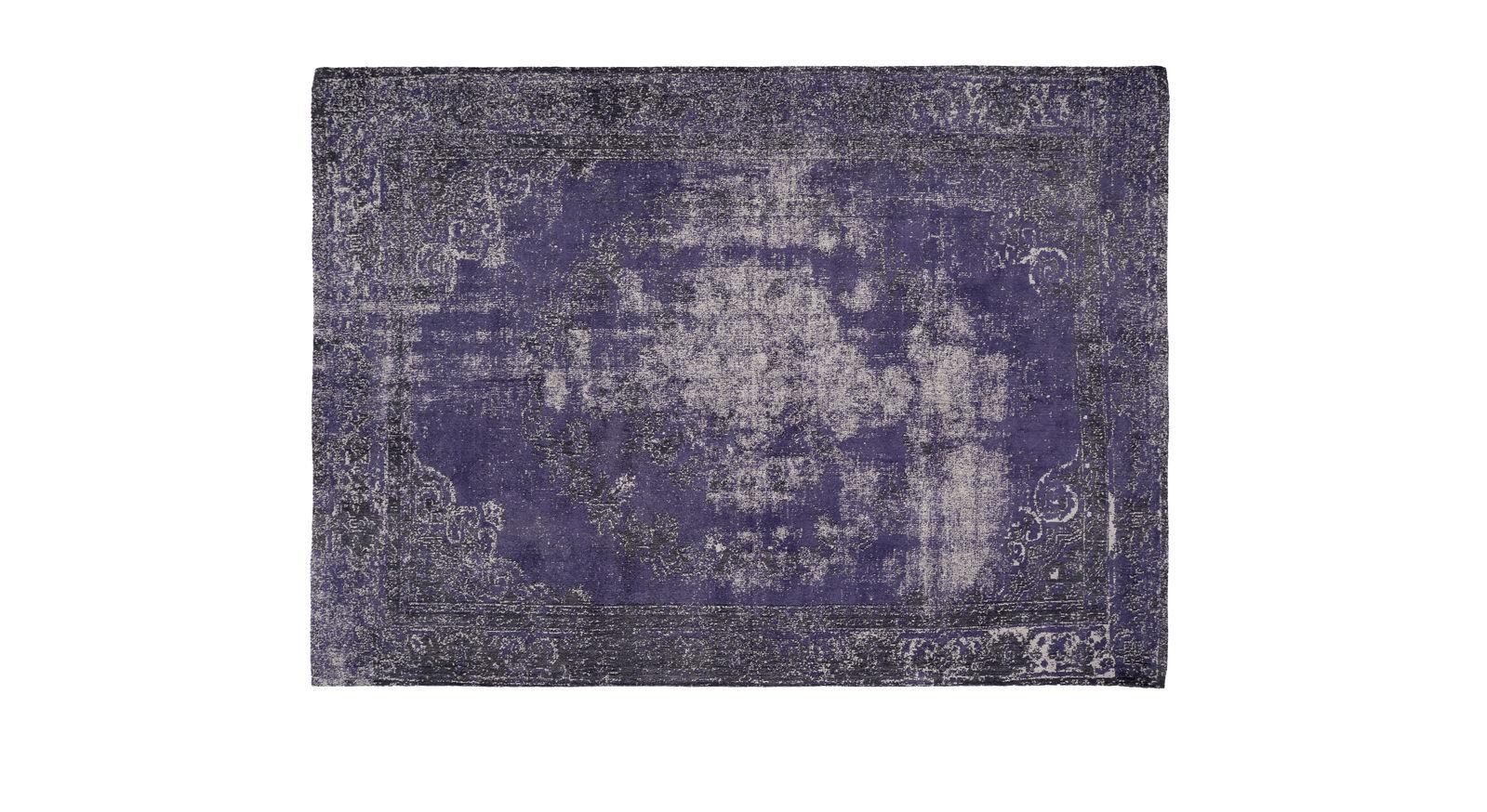 Teppich Royal blau für Fußbodenheizung geeignet