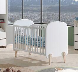 Robustes und preiswertes Babybett Maila