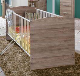 Preiswertes Babybett Zagra mit Dekor-Oberfläche