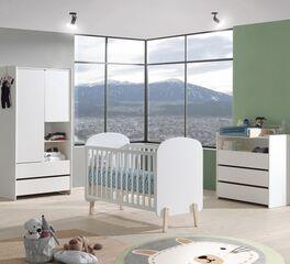 Babyzimmer Maila 3-teilig aus MDF und Kiefer