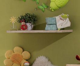 Praktisches Wandregal Tropea für Babyzimmer