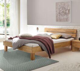 Bett Advira aus hochwertigem Echtholz