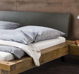 Bett Anes Kopfteil aus hochwertigem Kunstleder