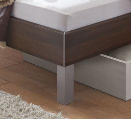 Bett Belluno mit stylischer Dekor-Oberfläche