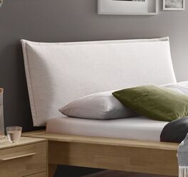 Bett Casevio mit gepolstertem Kissen-Kopfteil