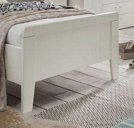 Elegantes Bett Casperia mit erhöhtem Fußteil