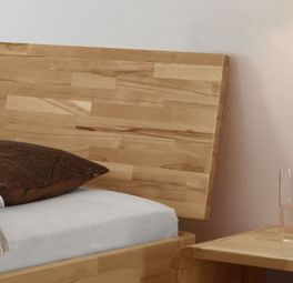 Dezentes Bett Florina inklusive Kopfteil