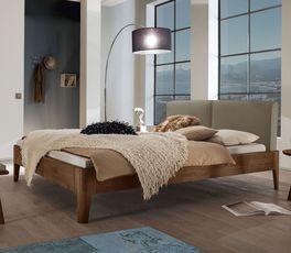 Elegantes Bett Gori in Komfort-Liegehöhe