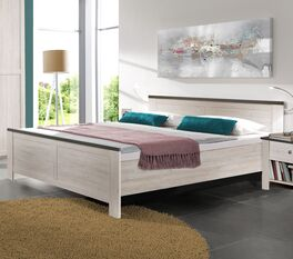 Bett Grom aus robuster Spannplatte